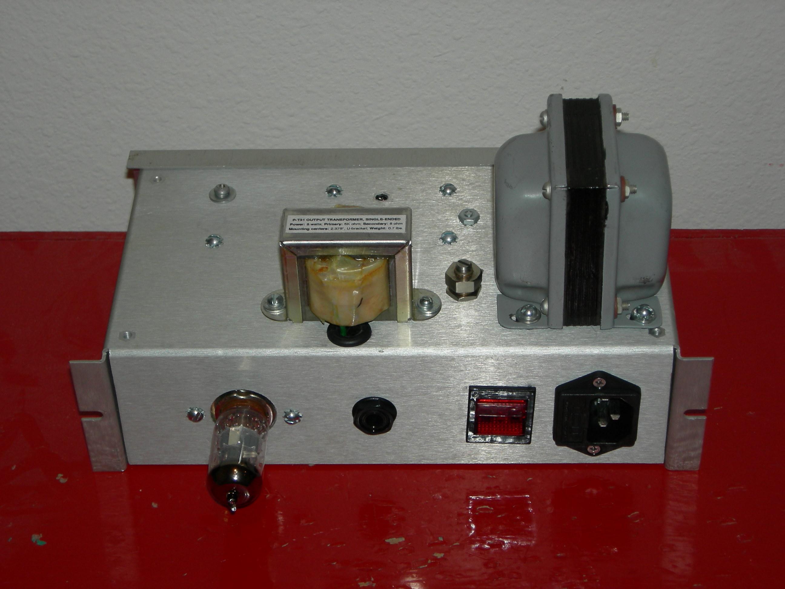 milliAmp test bed